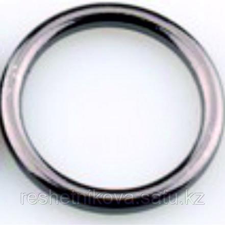 """Кольцо литое, цвет """"темный никель"""""""