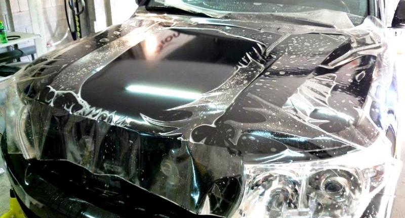Защита автомобиля пленкой в Алматы
