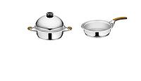 Посуда 5 л, 28 см + Сковорода 1,3 л без крышки Syncro-Clik
