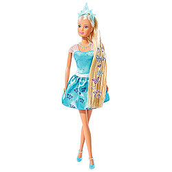 Steffi Love Кукла Штеффи с наклейками для волос, 29 см