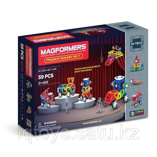 Magformers Power Sound Set Магформерс Сила звука