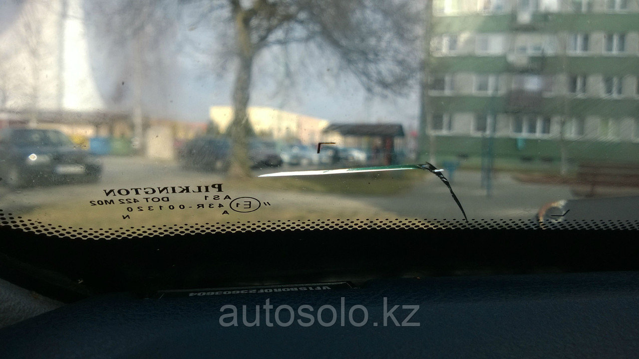 Ремонт трещин на лобовом стекле в Алматы