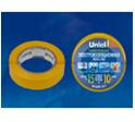 Изоляционная лента Uniel 20м, 15мм, 0,135мм, 10шт(в цвете)