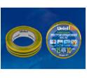 UIT-135P 20/15/10 YGR Изоляционная лента Uniel 20м, 15мм, 0,135мм, 10шт, цвет Желто-Зеленый
