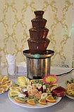 Шоколадный фонтан 4 яруса 45см., фото 7