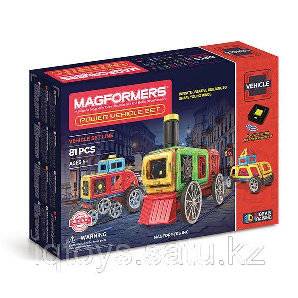 Magformers Power Vehicle Set Магформерс Мощный транспорт
