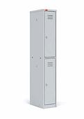 Шкаф для одежды металлический  2 ячейки