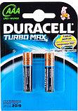 Батарейка Дюрасэл - Duracell ААА / АА Turbo Mах 1,5V 2шт, фото 2