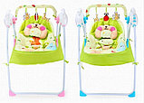 Музыкальные электрокачели Baby cradle, фото 2