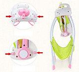 Музыкальные электрокачели Baby cradle, фото 7