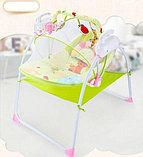 Музыкальные электрокачели Baby cradle, фото 3
