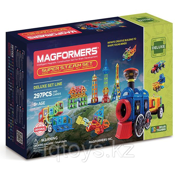 Magformers Super STEAM Set