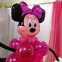 Минни Маус из шаров, фото 1