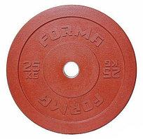 Диск бамперный Forma 20 кг красный