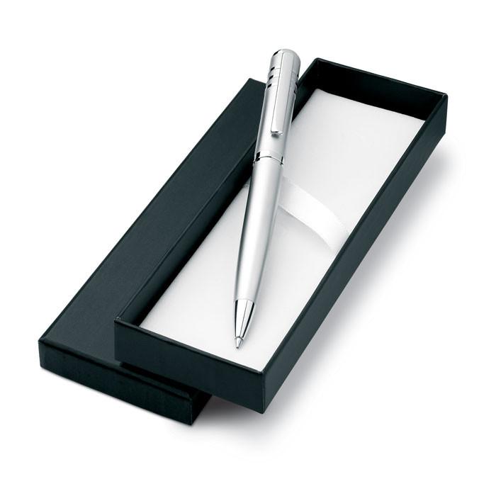 Ручка с блестящим лаковым корпусом