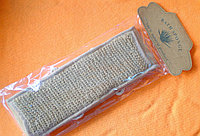 Мочалка (вехотка) из крапивы длинная с ручками