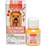 Суспензии от внутренних паразитов для собак