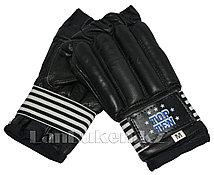 Шингарты кожаные М TOP TEN (черные)