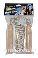 Скакалка для фитнеса веревочная 2.73 м разноцветная
