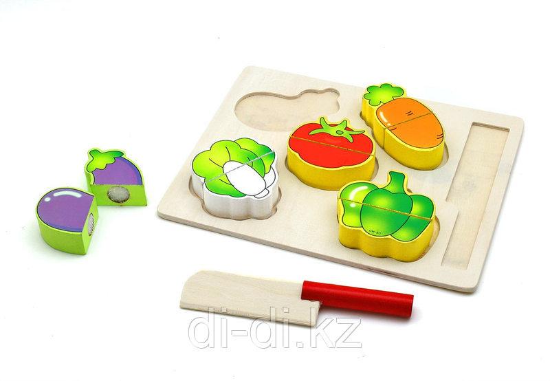 Игрушечные Фрукты и Овощи разрезные