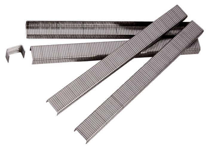 (57662) Скобы для пнев. степл., 19 мм, шир. - 1,2 мм, тол. - 0,6 мм, шир. скобы - 11,2 мм, 5000 шт//MATRIX