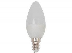 Светодиодная лампа 6W Е14, 220V, свеча (миньон)