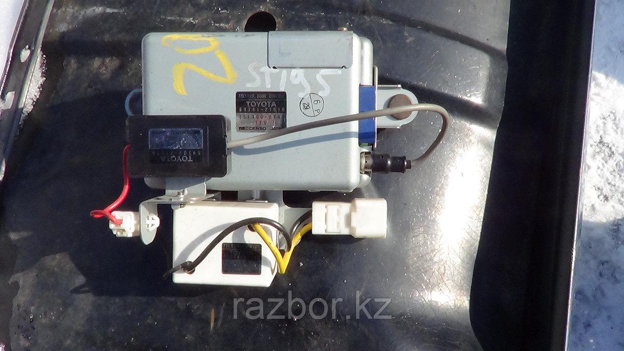 Блок управления двигателем Toyota Caldina с доп. элементами / №89707-21010 / №89741-21010