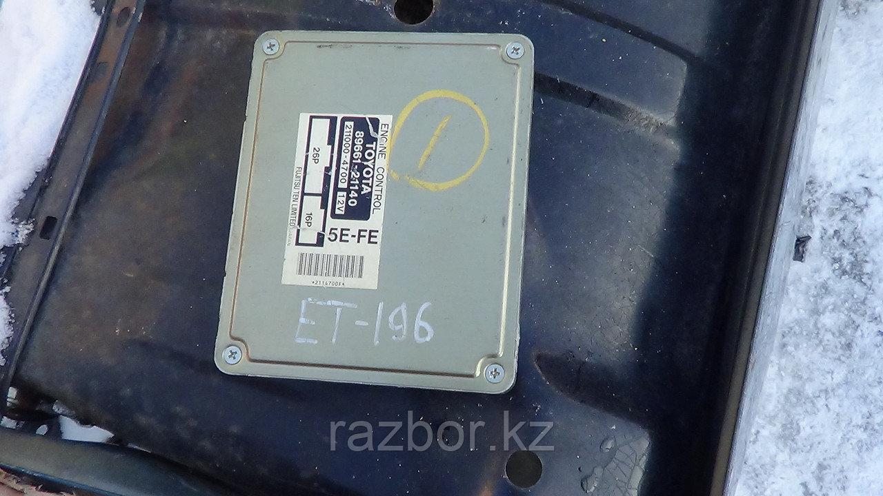 Блок управления двигателем Toyota Caldina (ET196) / №89661-21140