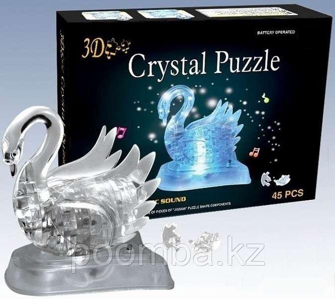 3D пазл Crystal Puzzle Лебедь