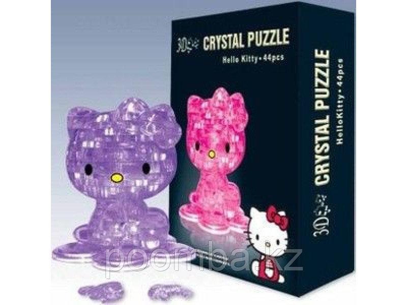Hello Kitty кристаллический пазл 3д
