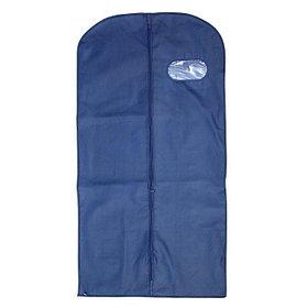 Чехол для одежды спанбонд, с окном 60х120 см, цвет синий