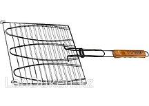 Антипригарная решетка-гриль для рыбы 28х28 см 69564 PALISAD CAMPING (002)