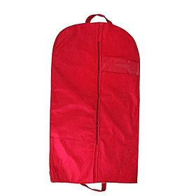 Чехол для одежды, с окном 120х60 см, цвет бордовый
