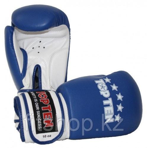 Перчатки для бокса и кикбоксинга TOP TEN натуральная кожа