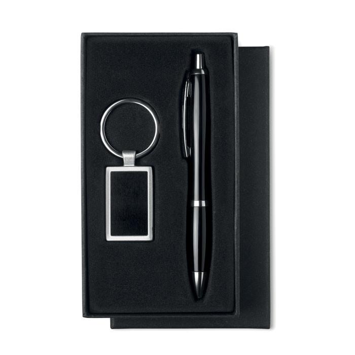 Набор: ручка шариковая и брелок, KELLY