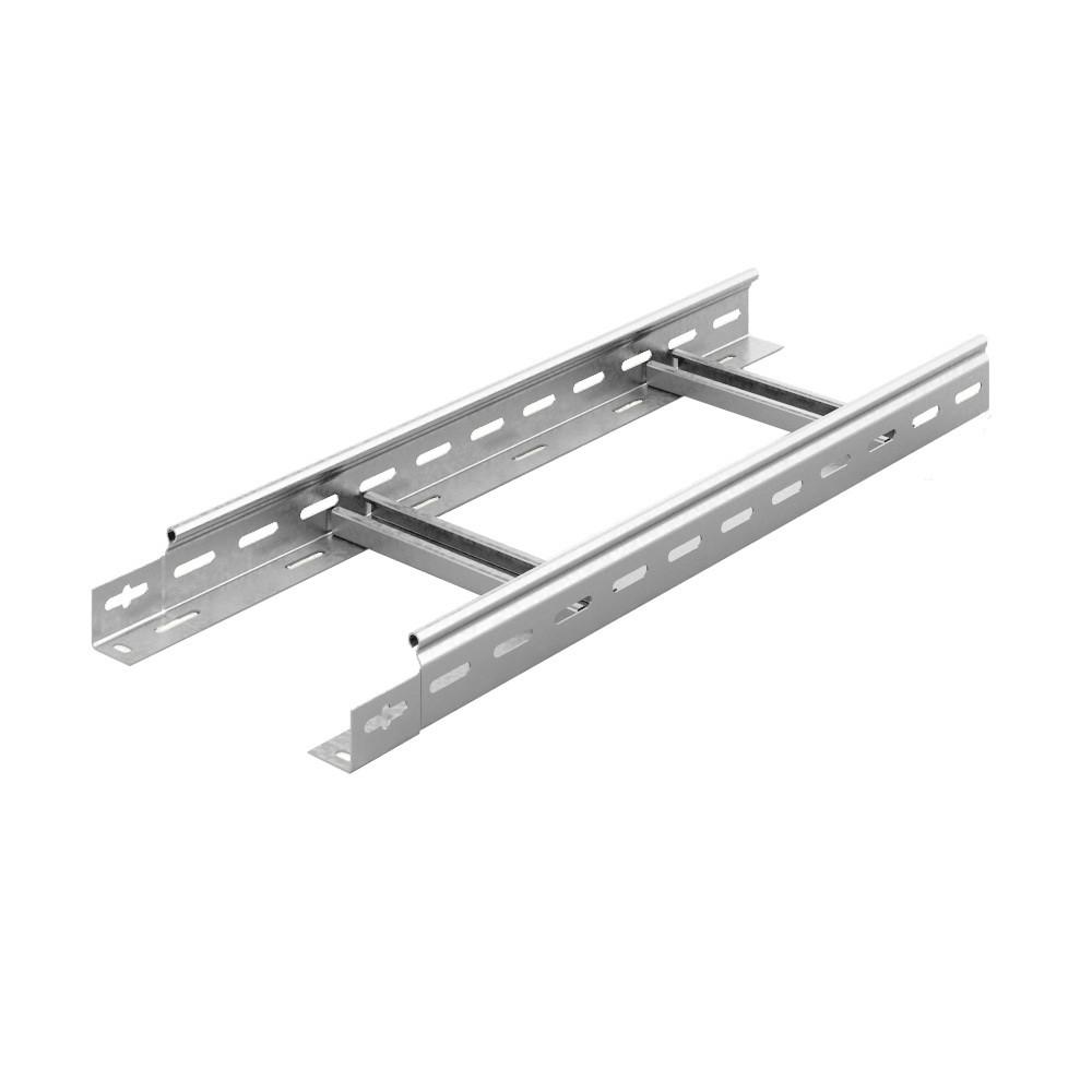 Вертикальный лестничный лоток для легких нагрузок 200х50х3000