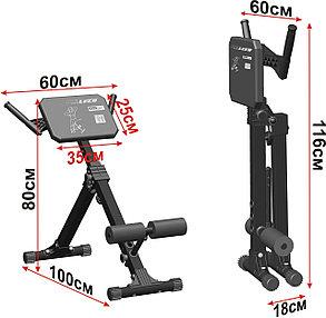 Скамья для мышц спины Гиперэкстензия Leco-IT Pro до 140 кг., фото 2