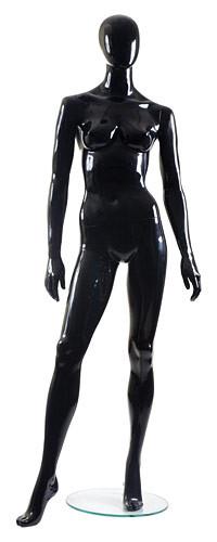 Манекен глянцевый черный