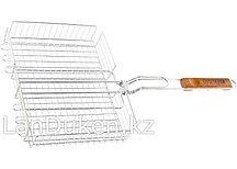 Объемная хромированная решетка для гриля 25х31х6.5 см, 69554 PALISAD CAMPING (002)