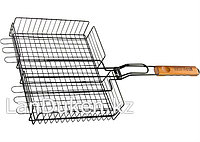 Антипригарная решетка для гриля 25х31х6.5 см, объемная 69552 PALISAD CAMPING (002)