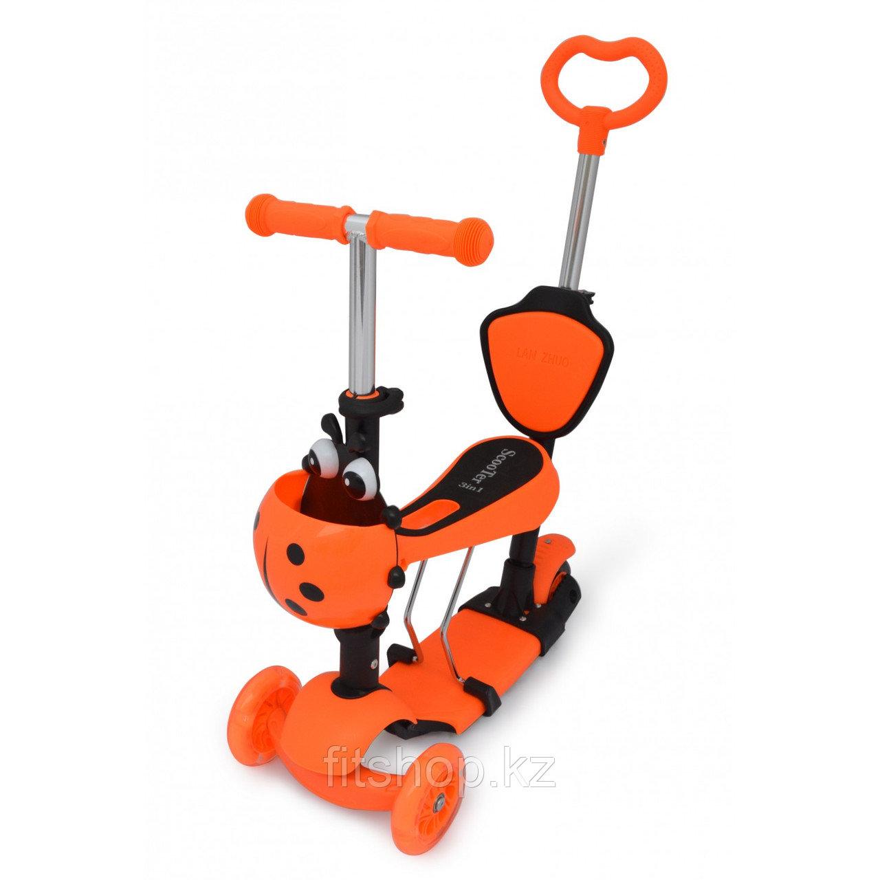 Детский самокат Scooter mini 3 в 1