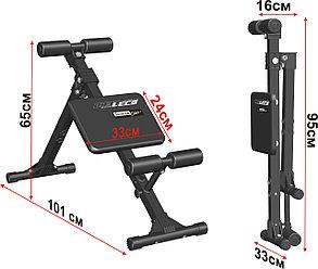 Скамья для пресса и мышц спины Leco Starter 100 кг, фото 2
