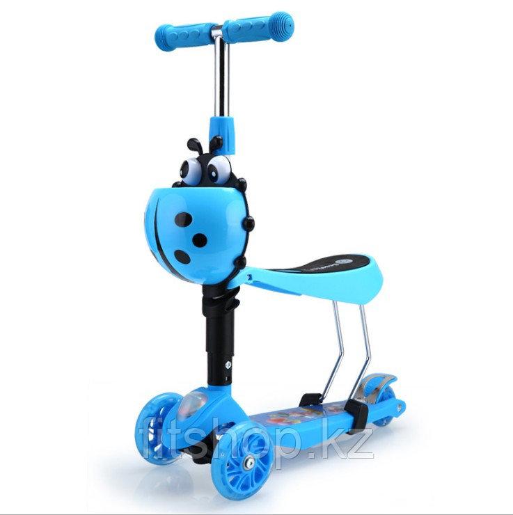 Детский самокат Scooter mini 2 в 1