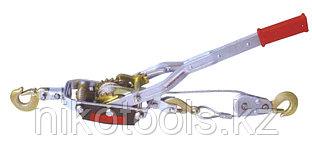 Лебедка ручная рычажная TOR QSS4TB2 (г/п 4,0 т, длина троса 2,4 м)