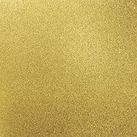 Кардсток с глиттером - Golden