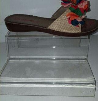 Подставка двухступенчатая обувная лестница