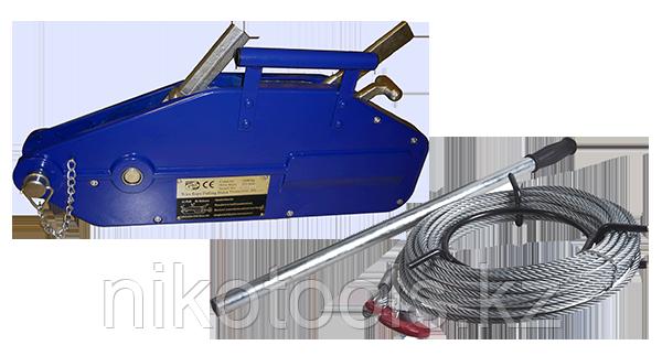 Лебедка рычажная тросовая TOR МТМ 800, 0,8 т, L=20м (тип ZNL)