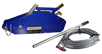 Лебедка рычажная тросовая TOR МТМ 1600, 1,6 т, L=12м (тип ZNL)