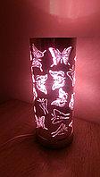 """Светильник - ночник """"Бабочки"""" (розовый)№2, фото 1"""