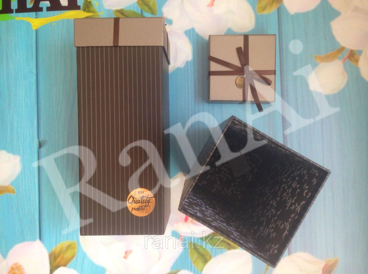 Подарочные коробки для бутылок - фото 1